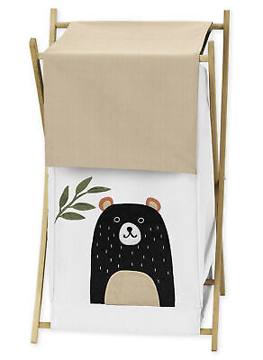 Baby Kid Clothes Laundry Hamper Bear Forest Animal Woodland
