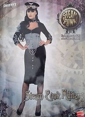 Mens & Ladies Steam Punk Costumes Science Fiction Fantasy Military Army Uniform