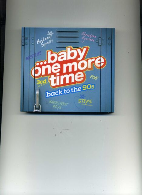 BABY ONE MORE TIME - BRITNEY SPEARS STEPS WESTLIFE JENNIFER LOPEZ - 3 CDS - NEW!