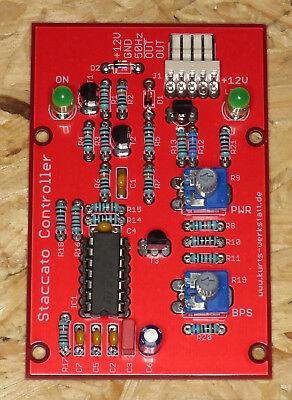 Staccato Controller für SSTC, Solid State Teslaspule, Teslacoil, Bausatz
