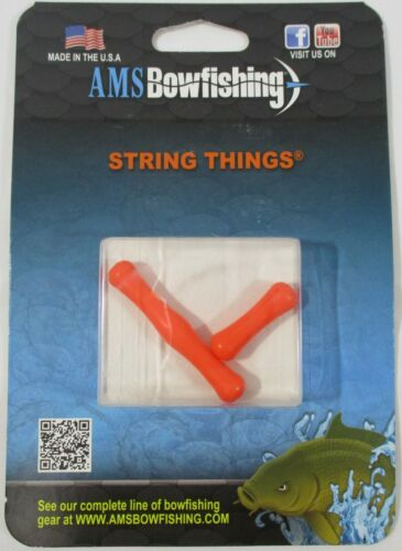 New AMS Bowfishing String Things Bow Fishing Finger Protection Archery Arrows