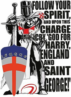 - ENGLAND RUGBY LEAGUE HOODIE CRY GOD FOR HARRY ST GEORGE AND ENGLAND SUPPORTERS