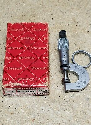 Starrett No. 223rl Micrometer