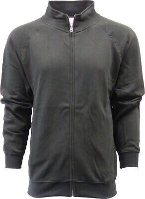 SPECIEN Adult Cadet-Collar Zip-Pocket Full-Zipper Cozy Fleece Sweatshirts - Zip Cadet Jacket