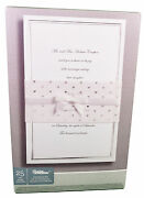 White Wedding Invitation Kit