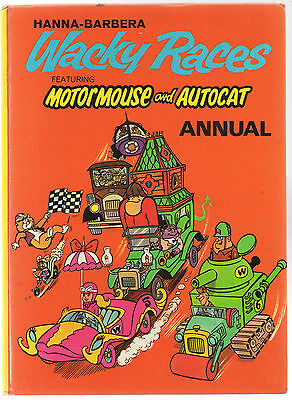 Vintage 1973 Hanna-Barbera Wacky Races Featuring Motor Mouse and Autocat Annual
