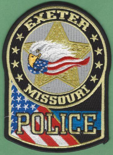 EXETER MISSOURI POLICE SHOULDER PATCH