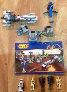 SPACE WARS SET (Lego compatible) Commander Neo Speeder Set Worongary Gold Coast City Preview