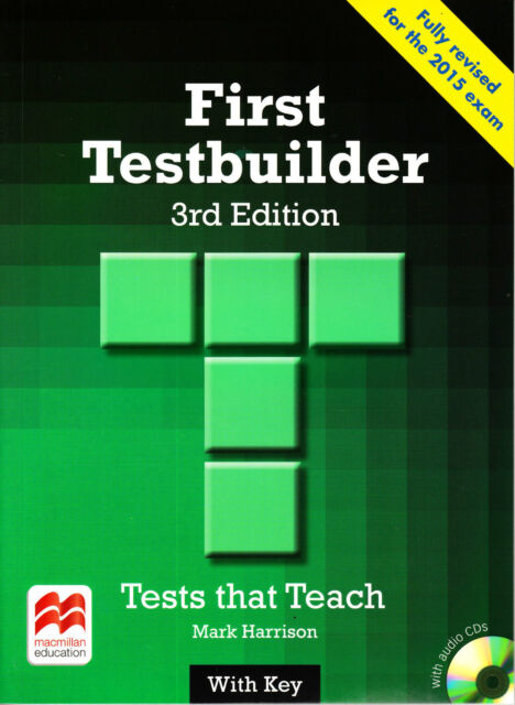 Macmilan FIRST FCE TESTBUILDER Tests That Teach 3rd Edit w Key &CDs 2015 Exm NEW