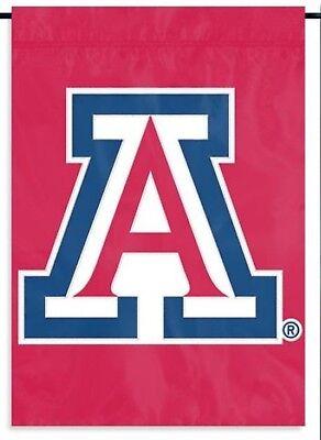 Arizona Wildcats GARDEN Window Flag Banner Applique Embroidered University - Arizona Wildcats Applique