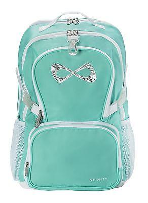 Nfinity Princess Backpack Teal with Rhinestone