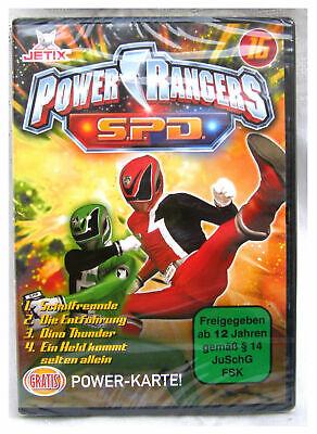 Nr. 16 DVD POWER RANGERS S.D.P. - Jetix - OVP ( Powerrangers ) wie neu !