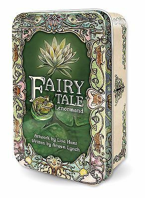 New Fairy Tale Lenormand Tarot Deck Cards TIN 120pg guide Lisa Hunt Arwen Lynch