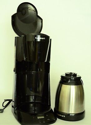 8 Cup Programmable Thermal - Cuisinart Programmable Stainless Thermal Carafe Coffeemaker 8 Cups - DTC-950