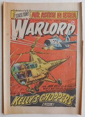 WARLORD Comic #260 - 15th September 1979