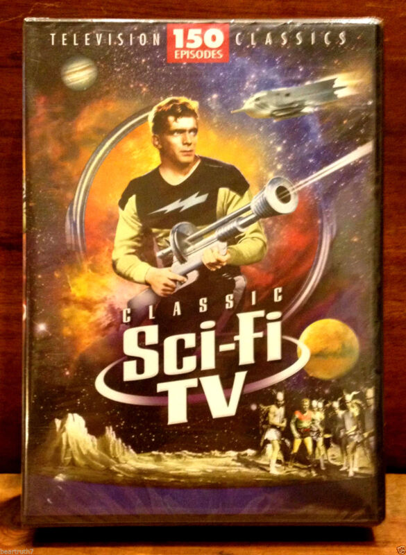 NEW **CLASSIC SCI-FI TV** 150 Television CLASSICS 12 Disc Set 60 Hrs MOVIES