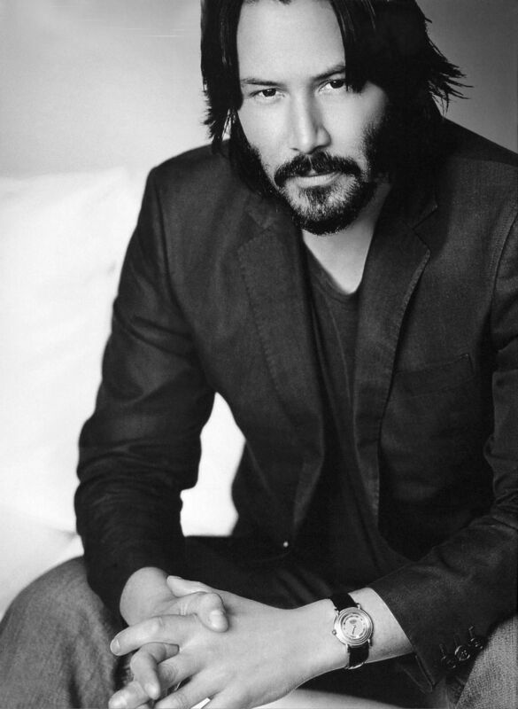 Keanu Reeves Hair And Long Beard 8x10 Photo Print