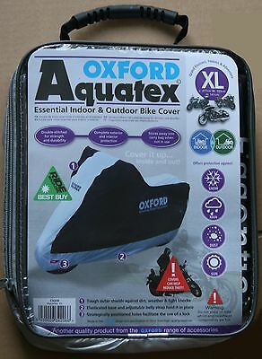 Oxford Aquatex Cover Outdoor & Indoor Motorbike  Motorcycle XL X-Large CV206