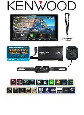 Kenwood Excelon DDX9906XR w/ SiriusXM SXV300v1 & License Plate Style Backup Cam