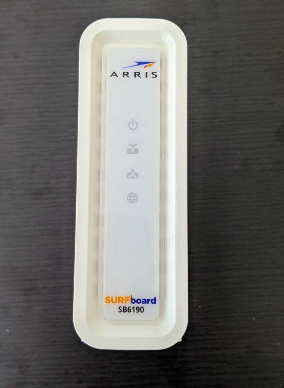 ARRIS SURFboard SB6190 DOCSIS 3.0 32x8 Gigabit Cable Modem