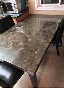 Marble table needs gone