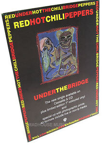 RED-HOT-CHILI-PEPPERS-Display-Stand-UK-Promo-Only-Under-The-Bridge-STANDEE-Rare
