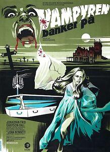 House Of Dark Shadows Movie Poster 1970 Horror Rare