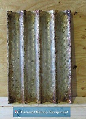 Used 4-flute Baguette Pan