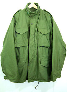 NEW-OLD-STOCK-1989-UNNISUED-US-ARMY-M65-FIELD-JACKET-LARGE-LONG