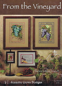From-The-Vineyard-Cross-Stitch-Chart-Pattern-8-Designs-Jeanette-Crews-Designs