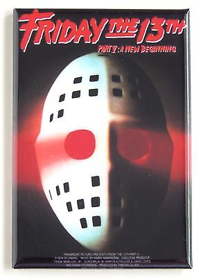 Friday the 13th Part 5 (Mask) FRIDGE MAGNET (2 x 3 inches) movie poster