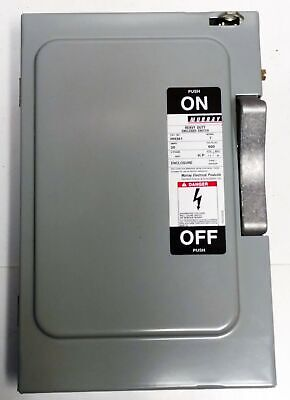 Murray Hh361 Safety Disconnect Switch Enclosure
