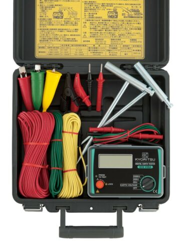 KYORITSU 4105A-H (Ground Resistance Tester, Hard Case Type)