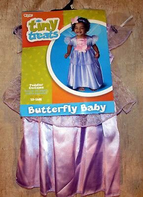 Tiny Treats Butterfly Baby Fairy Princess Halloween Costume Toddler Girl (Butterfly Fairy Baby Kostüme)