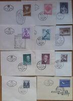 Fdc Etb Ersttag - Austria Osterreich 1959/61 - Lotto 11 Buste Nvg - Annulli Vari - oster - ebay.it