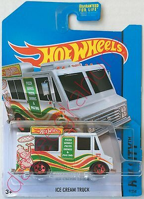 - Hot Wheels - Ice Cream Truck - New Die-Cast - Pizza - Wings - Pasta - Drink