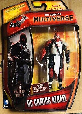 "DC Comics Multiverse Azrael, Batman Arkham City 3.75"" Figure, used for sale  Shipping to India"