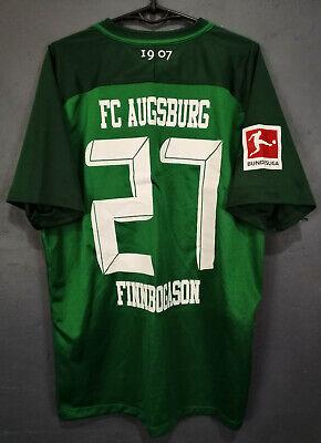 FINNBOGASON MATCH WORN AUGSBURG 2017/2018 SOCCER FOOTBALL SHIRT JERSEY SIZE XL image