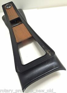 FORD CAPRI MK1 GT 1600 GT XL RS V6 WOOD GRAIN PLASTIC PANELS FOR CONSOLE 2PCE