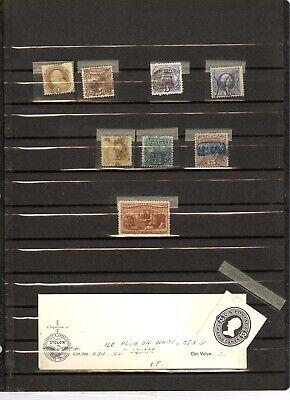 US, 1869 Pictorials, 30 Columbian(unused, no gum), U93 Cut Square stamp