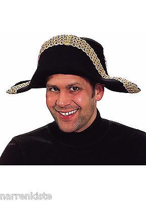 oko Hut Zweispitz Pirat Barock Mittelalter Piratenhut Kostüm (Napoleon-hut Kostüm)