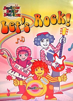 Doodle bops Rockin Road Show Let's Rock! NEW!  DVD Confidence Teamwork Kids