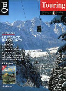 QUI-TOURING-N-2-FEB-1994-LE-VACANZE-IN-CONVENTO-CARNEVALE-A-IVREA