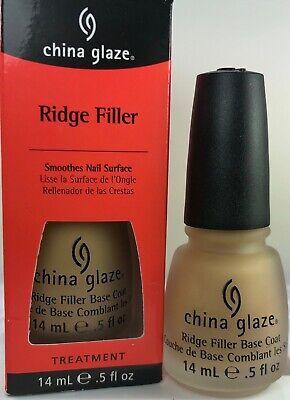 China Glaze Base Coat Ridge Filler Help Smooth nail Surface Provide The Best