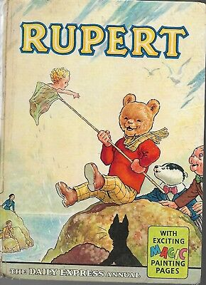 Vintage 1963 Daily Express Rupert Unclipped Price Annual