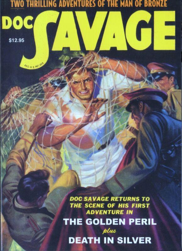 kd pulp reprint, DOC SAVAGE #3, Jan 2007, First printing