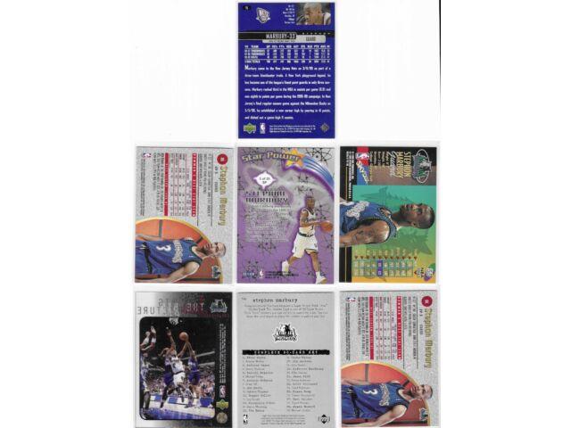 1997-98 Stephon Marbury Lot 16 W/ Rookies Finest Uncommon Embossed Metal UD3 +