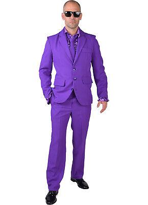 Mr Purple - Suit + Tie  (Purple Pimp Suit)