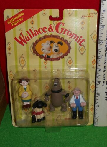 LQQK   1989  CHARACTERS  [   WALLACE & GROMIT  ]   COLLECTIBLE   FIGURES   NEW