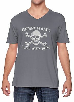 Instant Pirate, Just Add Rum - Costume Drink Halloween Men - Adhd Halloween